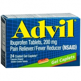 Advil Gel Caplets - 24ct