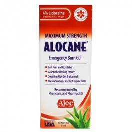 Alocane Maximum Strength Emergency Room Burn Gel- 2.5oz