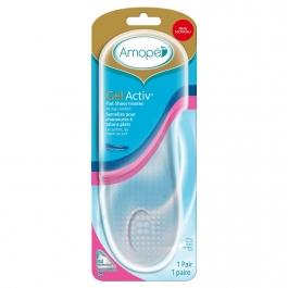 Amope GelActiv Flat Shoe Insoles Women's Size 5-10 - 1 pair