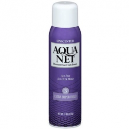 Aqua Net All Day All Over Hold Extra Super Hold Unscented 11 Ounces
