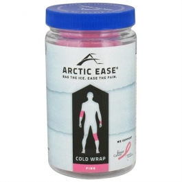 Arctic Ease Cold Therapy Wrap Pink - 1ct
