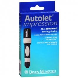 Autolet Impression Advanced Lancing Device
