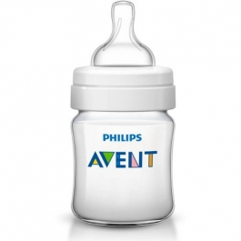 Philips Avent Anti-Colic Clear BPA-Free Baby Bottle - 4oz ** Extended Lead Time **