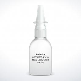 Azelastine 0.15%(205.5mcg)  Nasal Spray (30ml Bottle)