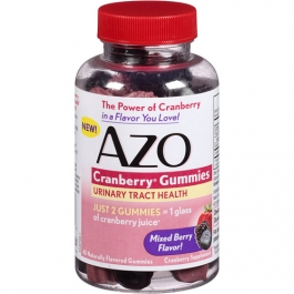 AZO Cranberry Gummies Urinary Tract Health Mixed Berry - 40ct