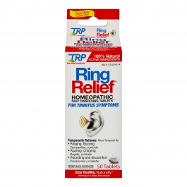 The Relief Products Ring Relief Homeopathic Fast Dissolving Tablets 50 ct