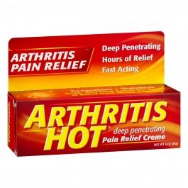 Arthritis Hot Pain Relief Creme 3 oz