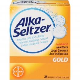 Alka-Seltzer Gold Effervescent Tablets 36ct