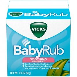Vicks® Babyrub Soothing Ointment- 1.76oz