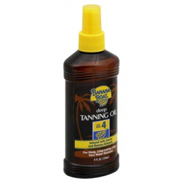 Banana Boat Deep Tanning Oil Spray Sunscreen, SPF 4- 8oz