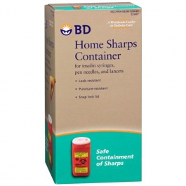 BD Home Sharps Container 1.4QT