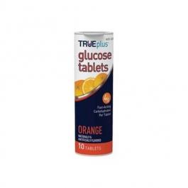 TRUEplus Glucose On the Go Chew Tablets, Orange- 6x10ct