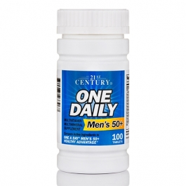 21st Century One Daily Men's 50+ Tablets, 100 ct