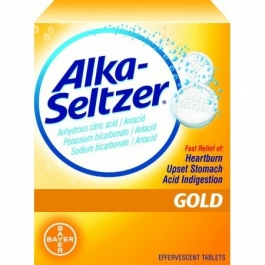 Alka-Seltzer Gold Tablet - 36 ***ONLY 2 IN STOCK!***