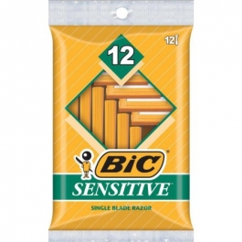 Bic Classic Shaver Sensitive 12ct