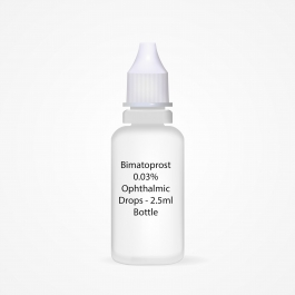 Bimatoprost 0.03% Ophthalmic Drops - 2.5ml Bottle
