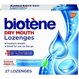 Biotene Refreshing Mint Lozenges- 27ct