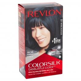 Revlon Colorsilk Beautiful Color #12 Natural Blue Black