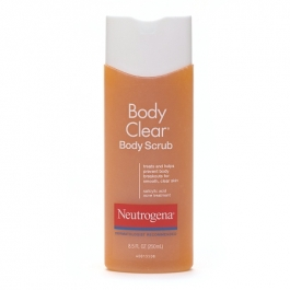 Neutrogena Body Clear Body Scrub Salicylic Acid Acne Treatment