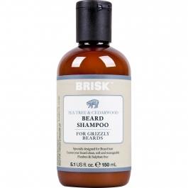 Brisk Tea Tree & Cedarwood Beard Shampoo- 5.1oz