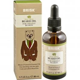 Brisk Beard Grooming Oil, Tea Tree- 1.7oz