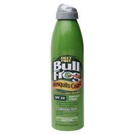Bull Frog Mosquito Coast Continuous Spray Sunblock with Insect Repellent, SPF 30- 6oz