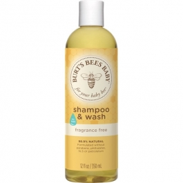 Burt's Bees Baby Shampoo & Wash- 12oz