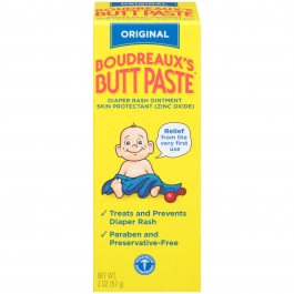 Boudreaux's Butt Paste Original Strength Diaper Rash Ointment - 2 oz