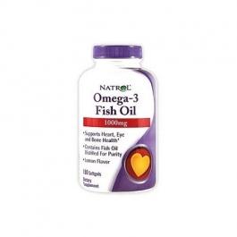 Natrol Omega-3 Fish Oil Lemon 1000 mg - 150 Softgels