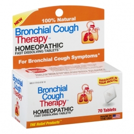 Bronchial Cough Therapy Fast Dissolving Tablets 70 ct