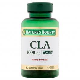 Nature's Bounty CLA 1000mg Tonalin Softgels 50ct