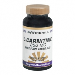 Windmill L-Carnitine 250 Mg Capsules - 50ct