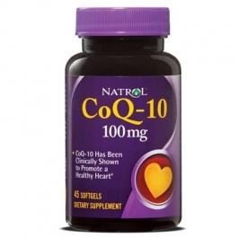 Natrol CoQ-10 100mg Softgels, 45 ct