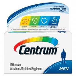 Centrum Men Under 50, Multivitamin Tablets - 120ct