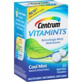 Centrum® Vitamints® Cool Mint Chewable Multivitamin - 60ct