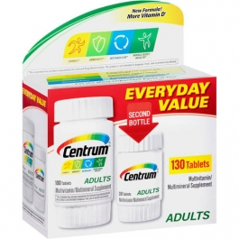 Centrum Adults Under 50, Multivitamin Tablets - 130ct