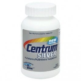 Centrum Silver Adults 50+ Multivitamin Tablets - 150ct