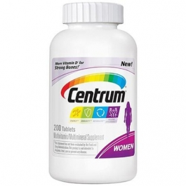 Centrum Women Under 50, Multivitamin Tablets - 200ct