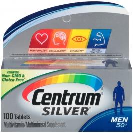Centrum Silver Men's Multivitamin Dietary Supplement Tablets - 100ct