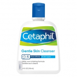 Cetaphil Gentle Cleanser Liquid- 4oz bottle