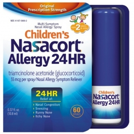 Children's Nasacort Allergy 24 Hour Spray- 60 Sprays