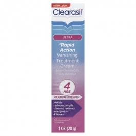 Clearasil Ultra Vanishing Acne Treatment Cream 1oz