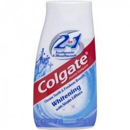 Colgate Toothpaste 2-In-1 Whitening - 4.6oz