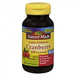 Nature Made Super Strength Cranberry  Mg Softgels