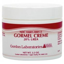 Gordon Laboratories Gormel Creme with 20% Urea - 2.5 oz