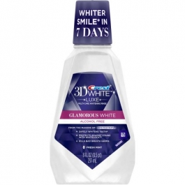 Crest 3D White  Multi-Care Whitening Rinse Fresh Mint - 8oz