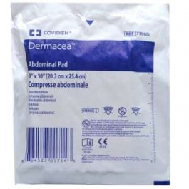 """Curity Abdominal Pads 8"""" X 10"""" Sterile Pads - 18ct"""