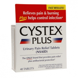 Cystex Urinary Pain Relief Tablets- 40ct