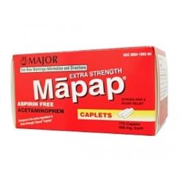 Major Mapap 500mg Capsules 175ct