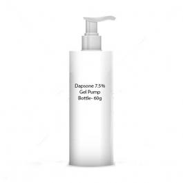 Dapsone 7.5% Gel Pump Bottle- 60g